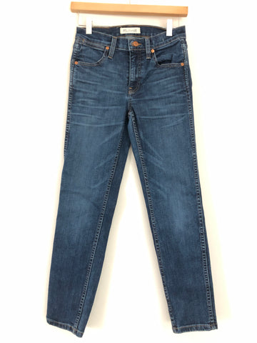 "Madewell High Rise Skinny Crop Jeans- Size 25 (Inseam 26"")"