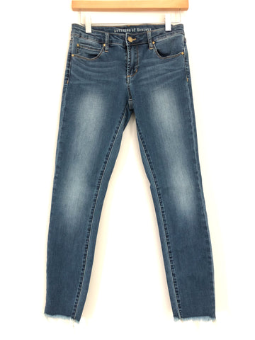 "Articles of Society Cut Off Skinny Jeans- Size 25 (Inseam 27"")"