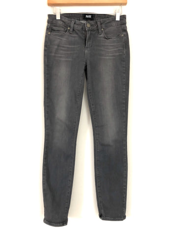 "PAIGE Verdugo Ankle Grey Jeans- Size 26 (Inseam 27"")"