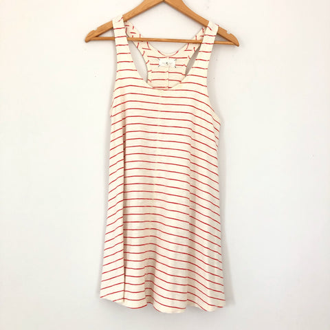 Lou & Grey Red Stripe Racerback Tunic Tank- Size XS (see notes)