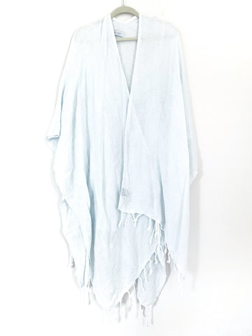 MerSea Light Baby Blue The Beach Wrap- One Size