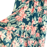 Aura Off the Shoulder Floral Ruffle Maxi Romper NWT- Size S