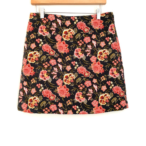 LOFT Floral Patterned Skirt- Size 6