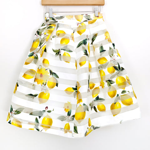 The Moon Lemon Print Skirt- Size XS