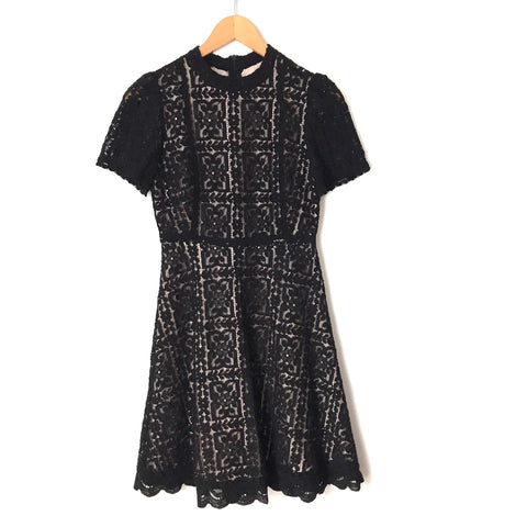 BB Dakota Black Lace Dress- Size 2
