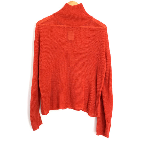 Vestique Rust Turtleneck Thin Sweater NWT- Size S