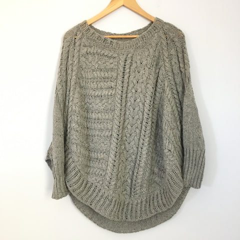 Angel of the North Anthropologie Chunky Sweater- Size S