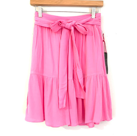 GIbson Hot Pink Tie Skirt NWT- Size PXXS