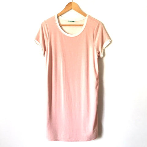 P.S. Kate Pink T Shirt Style Dress- Size S