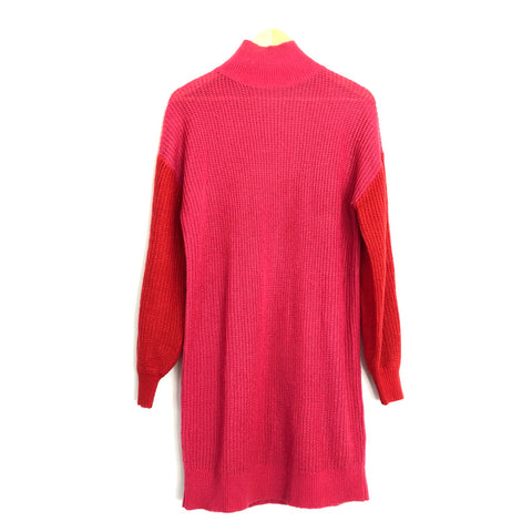 Lovers + Friends Pink Blaine Sweater Dress- Size S