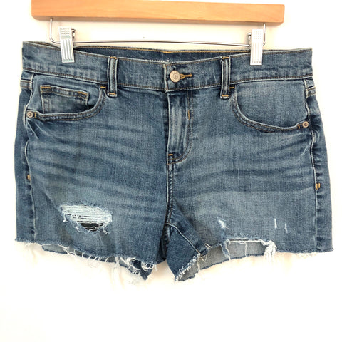 Old Navy Boyfriend Distressed Shorts- Size 6