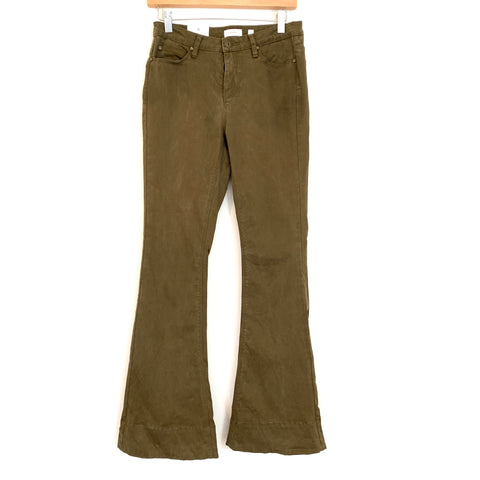 "A Loves A Brown Ankle Flare Pants NWT- Size 25 (Inseam 30"")"