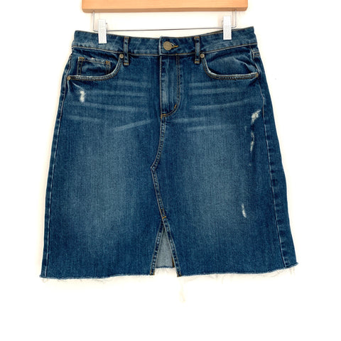 LOFT Knee Length Denim Skirt- Size 6