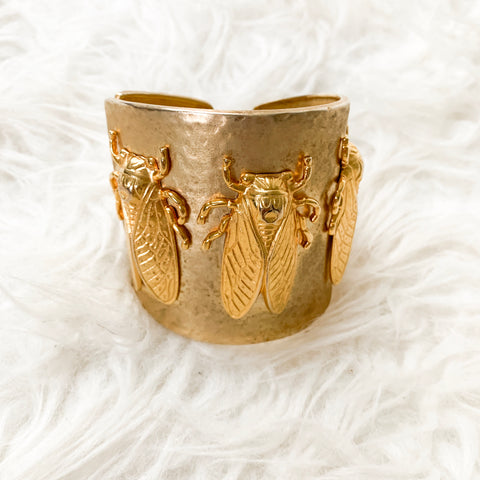 "Mini Mariana May Goldbug Collection 3"" Bangle"