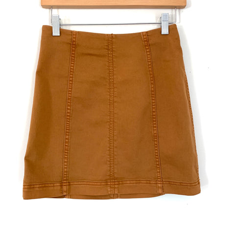 Free People Brown Skirt- Size 4