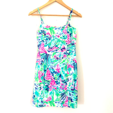 Lilly Pulitzer Boat Pattern Dress- Size 0