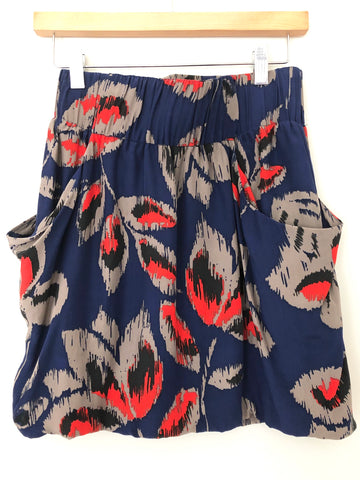 Dolce Vita Silk Skirt with Pockets- Size S