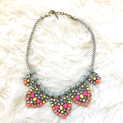 Sugarfix by BaubleBar Rope Statement Necklace