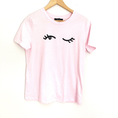 Forever 21 Pink Eye Wink Tee- Size S