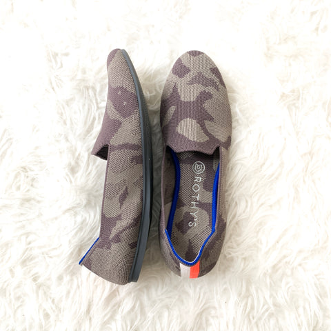 Rothy's Camo Loafer in Grey- Size 9 (Like New!!)