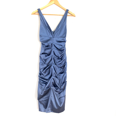Nicole Miller Ruched Fitted Dress- Size 2