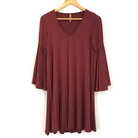 Rachel Pally Swing Dress with Bell Sleeves- Size XS