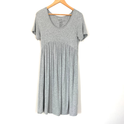 June & January For Mama Grey Maternity Dress- Size S