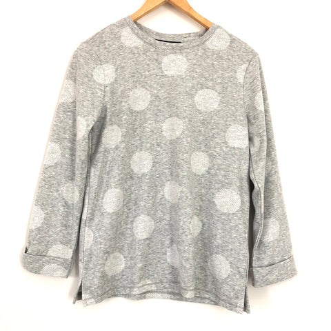 M&S Collection Supersoft Polka Dot Sweater- Size 4
