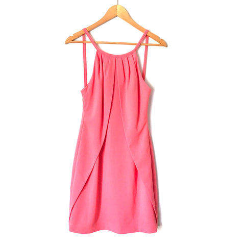 Camilyn Beth Pink Drape Front Dress- Size 2