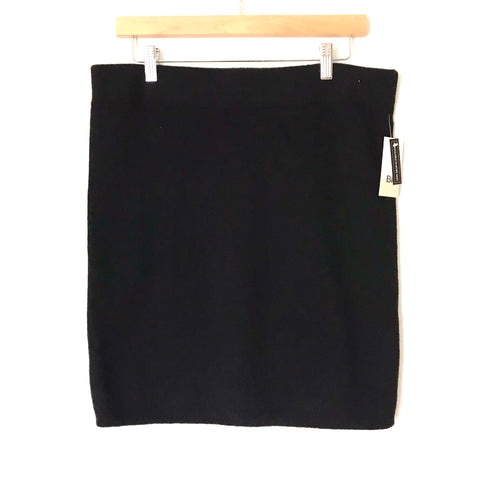 BP Black Sweater Pencil Skirt NWT- Size L