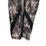 "Human Performance Engineering Snakeskin Print Legging with Mesh Detail- Size XS (Inseam 25"")"