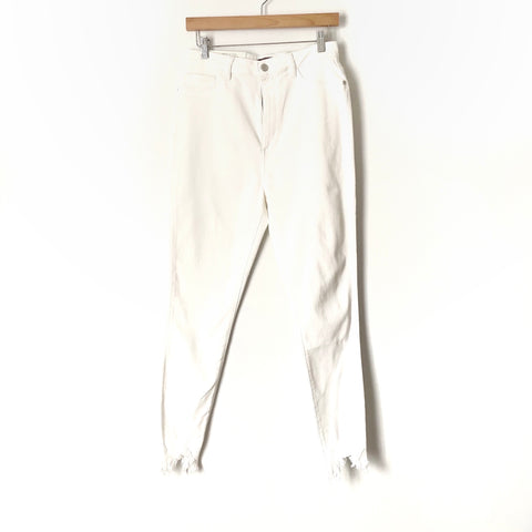 "DL1961 Chrissy White Ultra High-Rise Skinny Jeans NWT- Size 32 (Inseam 27"")"