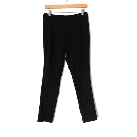 "Who What Wear Black High-Rise Skinny Ankle Pants- Size 12 (Inseam 26"")"
