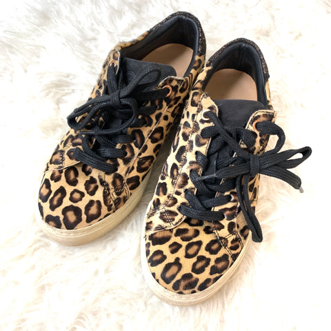 Greats Brooklyn (Made in Italy) Leopard Platform Shoes- Size 6