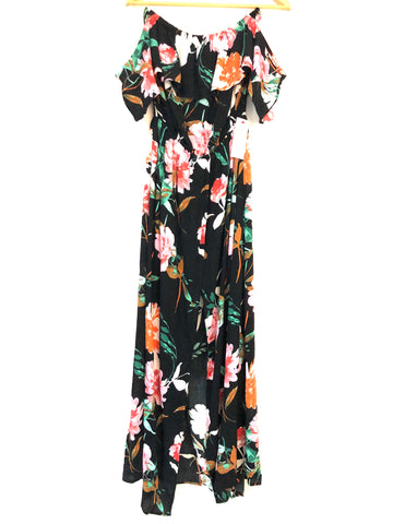 Illa Illa Floral Maxi Wrap Dress with Shorts NWT- Size M