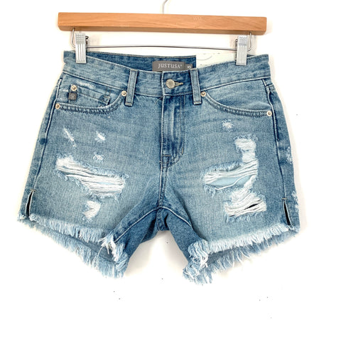 JustUSA Distressed Jean Shorts NWT- Size XS