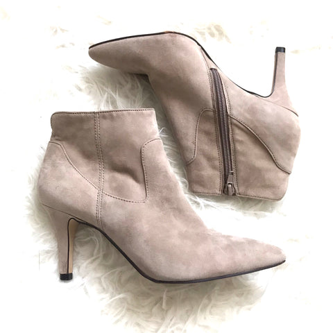 Sole Society Leather Booties- Size 6