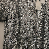 Gap Silver Sequin Dress NWT - Size XS