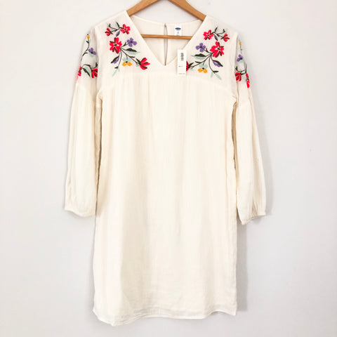 Old Navy Colorful Embroidered Dress NWT- Size XS