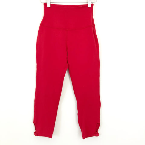 "Kate Spade Beyond Yoga Red Crop Legging - Size S (19"" Inseam)"