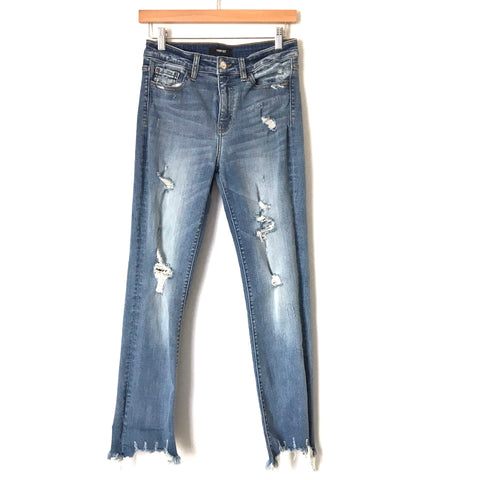 "Vervet Distressed Jeans- Size 27 (Inseam 27"")"
