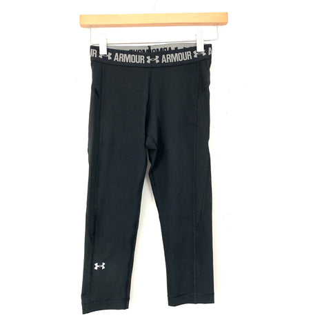 "Under Armour Reversible Crop Workout Pants- Size ~XS (Inseam 17"")"