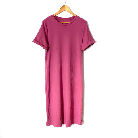 A New Day Mauve T Shirt Dress- Size S (see notes)