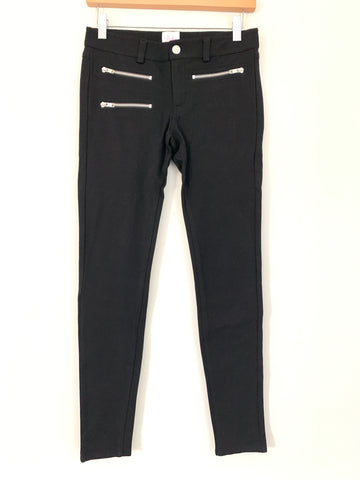"Parker Black Zipper Pocket Skinny Pants- Size XS (Inseam 27.5"")"