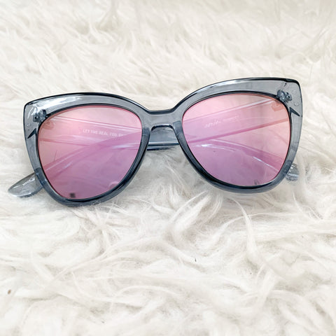 Aerie Blue Let the Real You Shine Sunglasses (see notes)