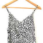 L'atiste Animal Print Cropped Wide Leg Jumpsuit- Size M