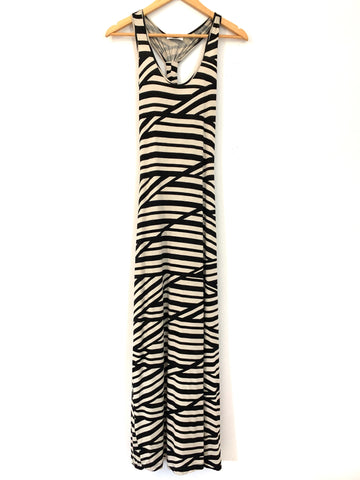 Calvin Klein Striped Maxi Dress- Size 2