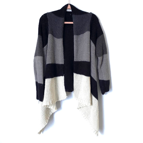 JUSTFAB Color Block Cardigan- Size XS (Jana)