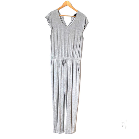 Gibson Grey Super Soft Jumpsuit- Size M (see notes)