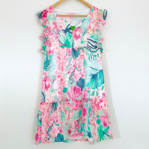 Lilly Pulitzer Nora Dress in Multi Via Flora NWT- Size XS